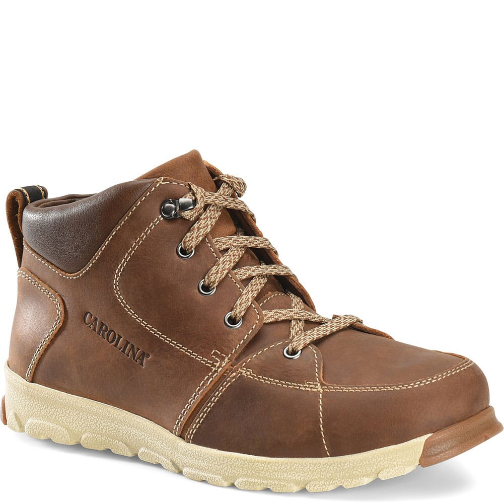 Image for Carolina Men's S-117 Aluminum Toe Safety Boots - Brown from bootbay