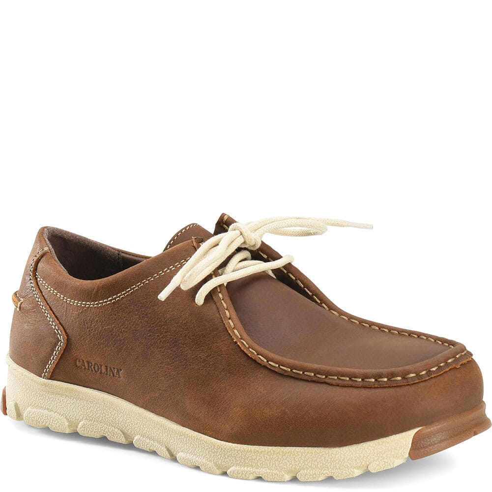 Image for Carolina Men's S-117 Aluminum Toe Safety Shoes - Brown from bootbay