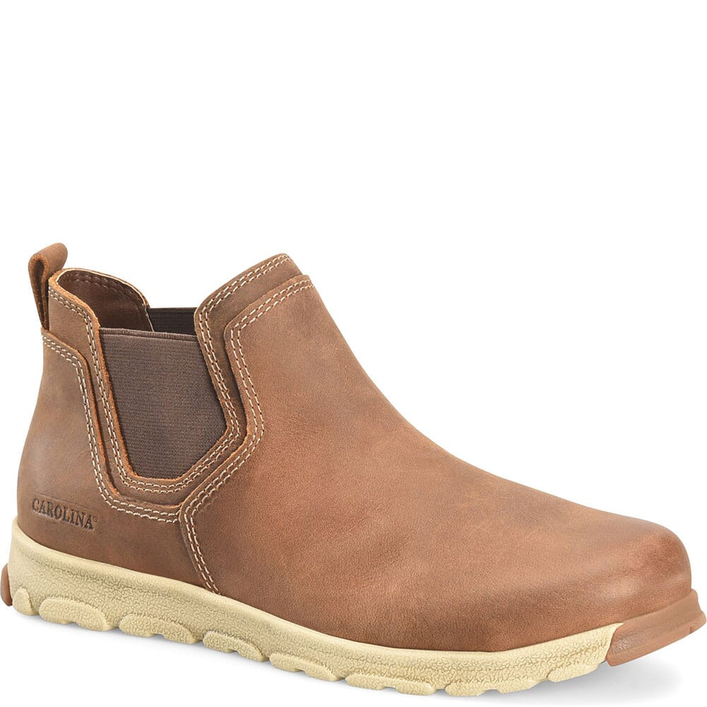 Image for Carolina Men's S-117 Slip On Safety Boots - Brown from bootbay