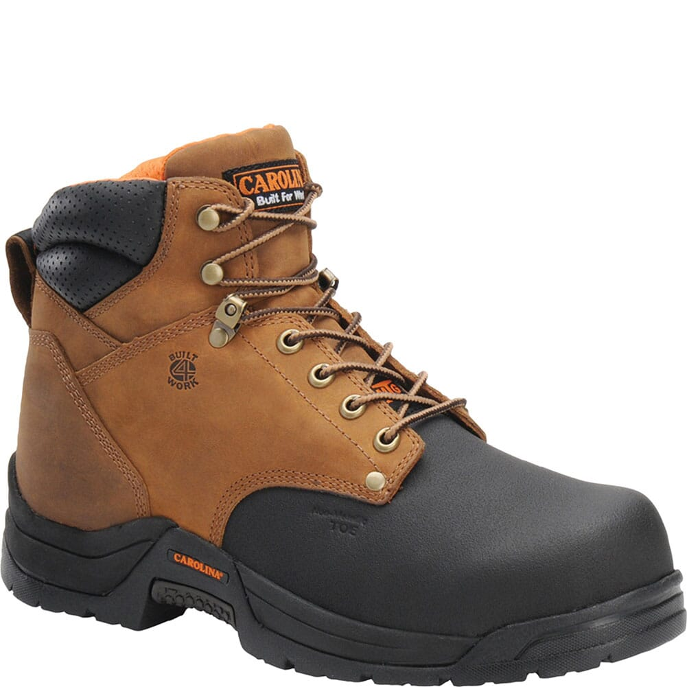 Image for Carolina Men's EH Comp Safety Boots - Copper from bootbay