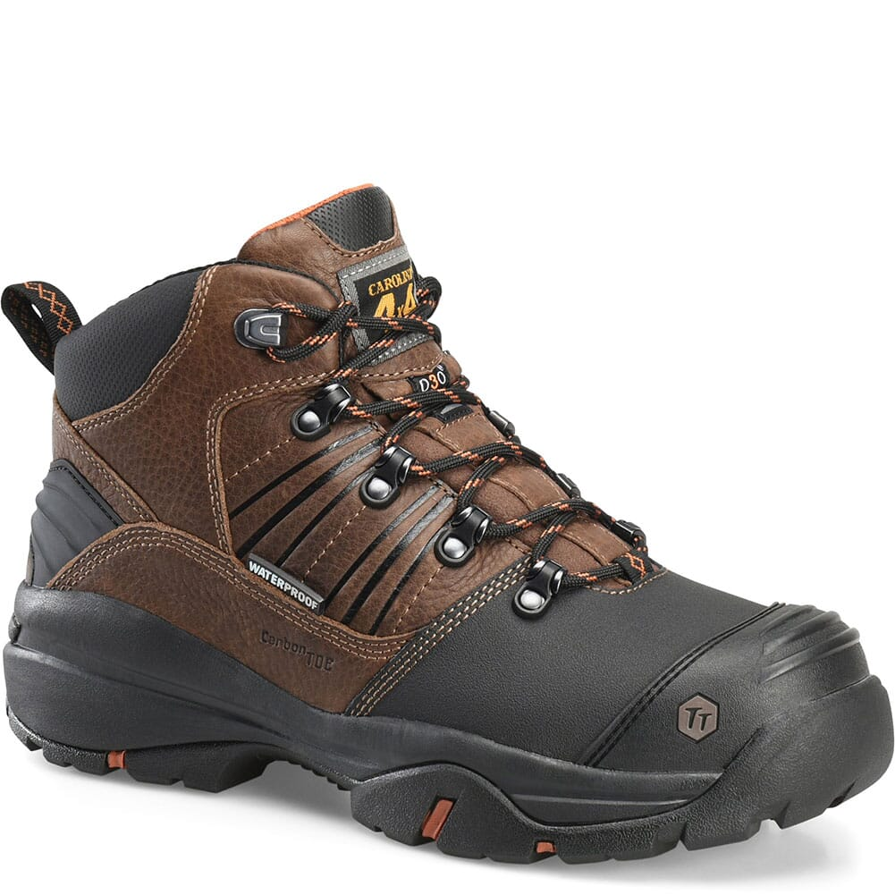 Image for Carolina Men's Miter MetGuard Safety Boots - Brown from bootbay