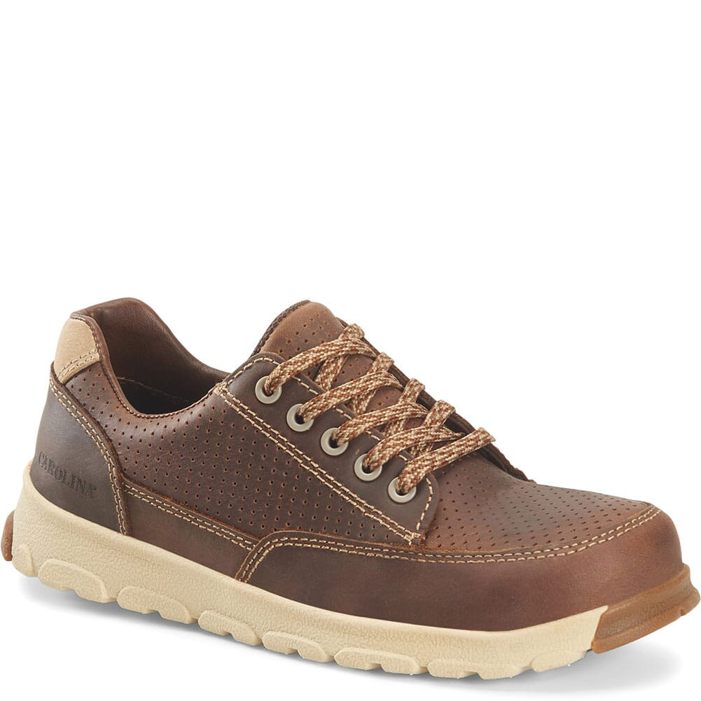 Image for Carolina Women's S-117 Safety Oxfords - Neutral Mahogany from elliottsboots