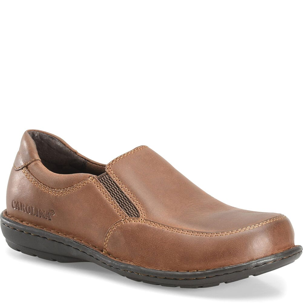 Image for Carolina Women's BLVD ESD Safety Slip On - Brown from elliottsboots