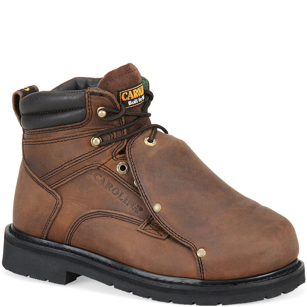 Image for Carolina Men's Metatarsal Guard Safety Boots - Brown from bootbay