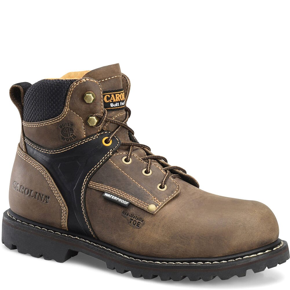 Image for Carolina Men's Hauler Lo Work Boots - Brown from bootbay