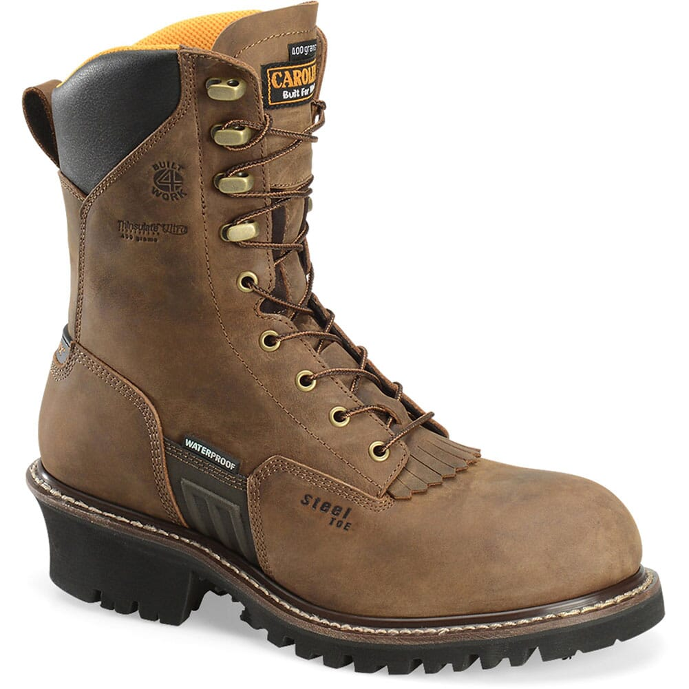 Image for Carolina Men's Maximus WP Safety Logger - Brown from bootbay