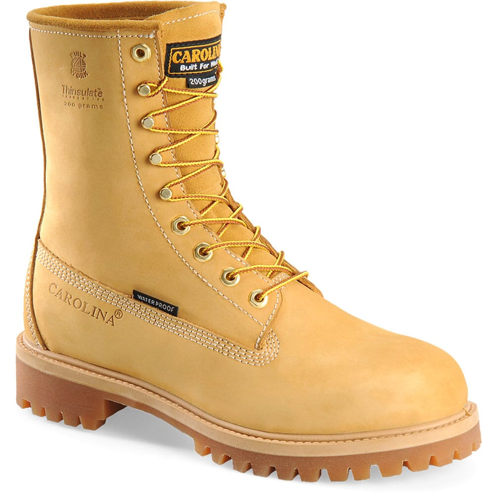 Image for Carolina Men's Insulated Work Boots - Wheat from bootbay