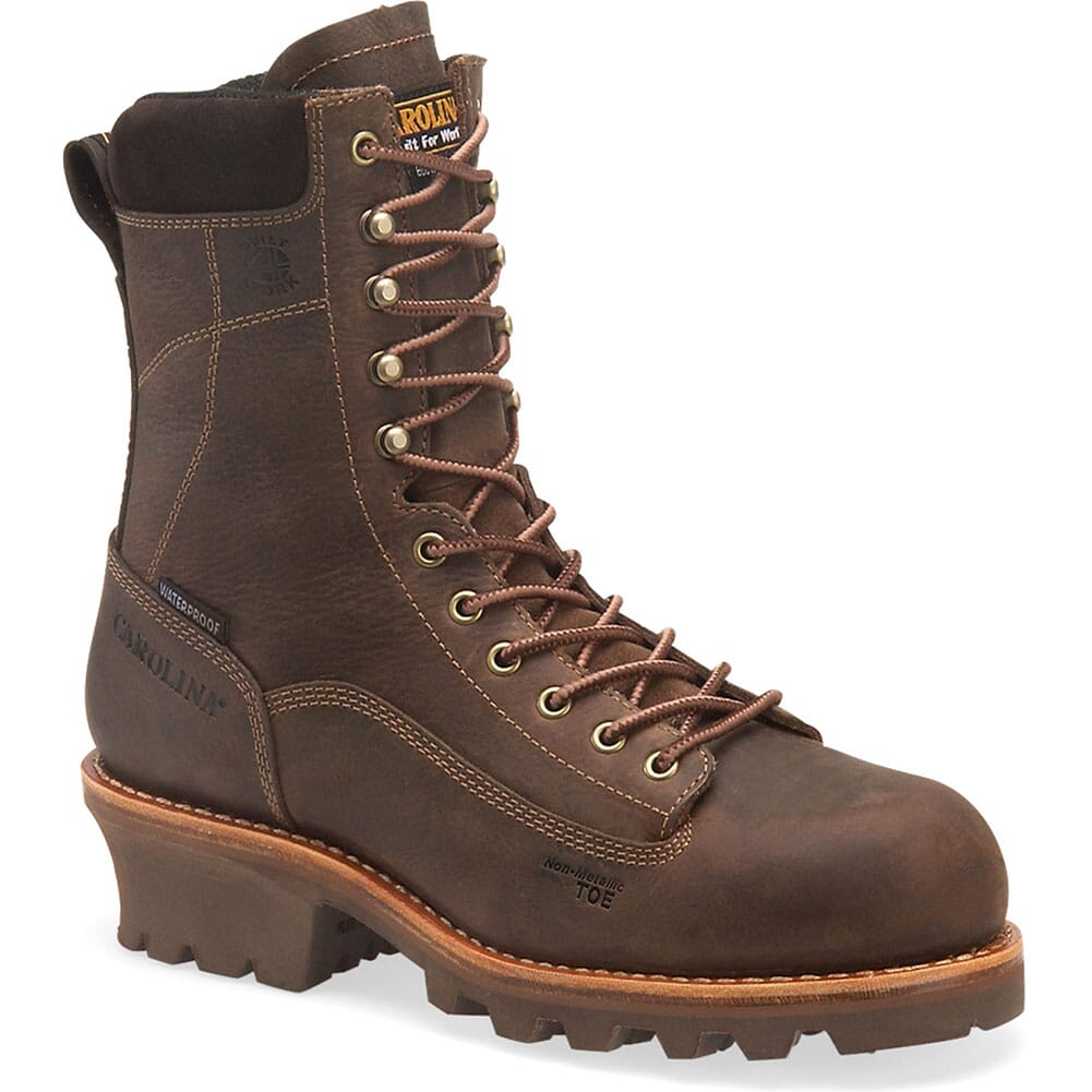 Image for Carolina Men's WP Membrane Safety Boots - Brown from bootbay