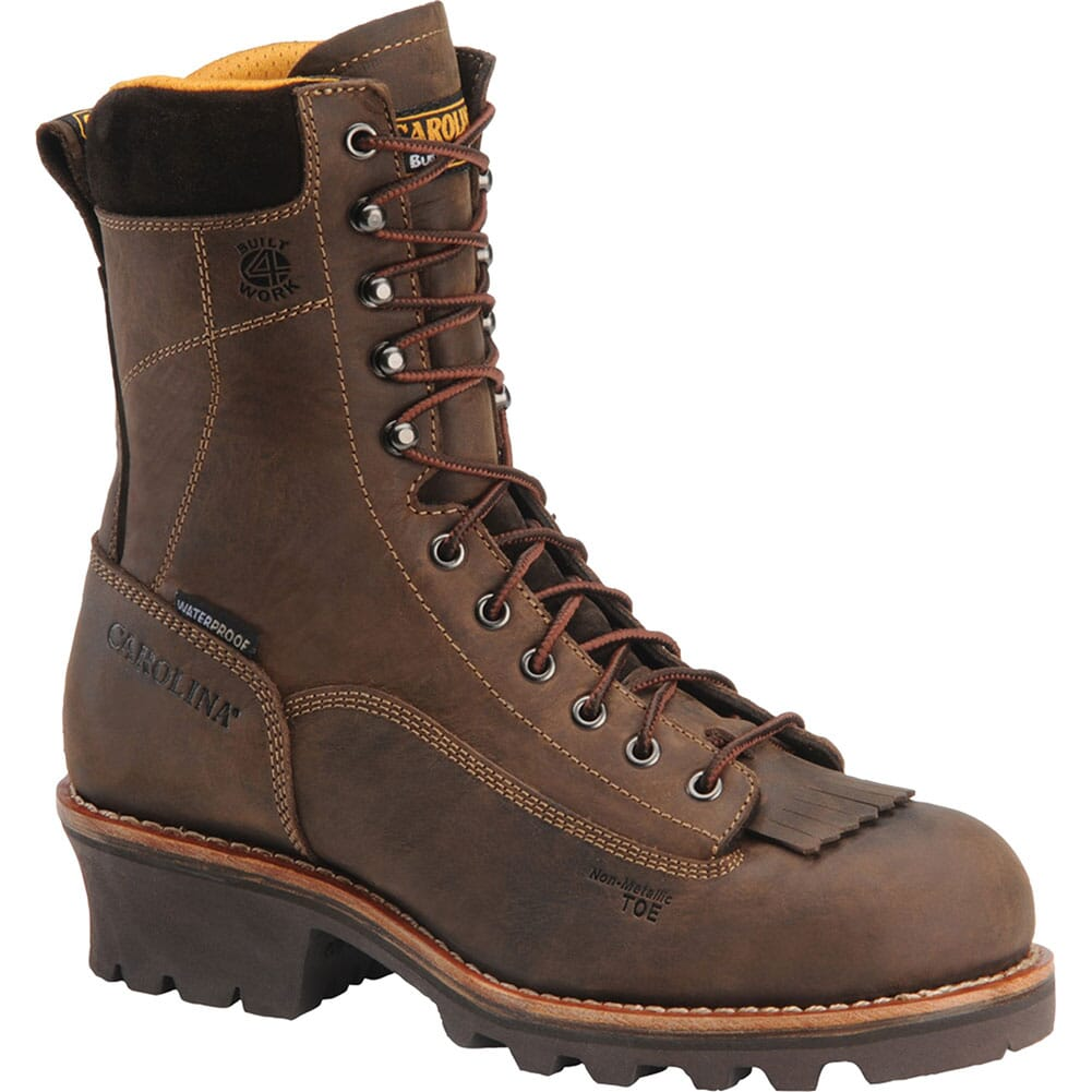 Image for Carolina Men's Waterproof Safety Loggers - Gaucho from bootbay