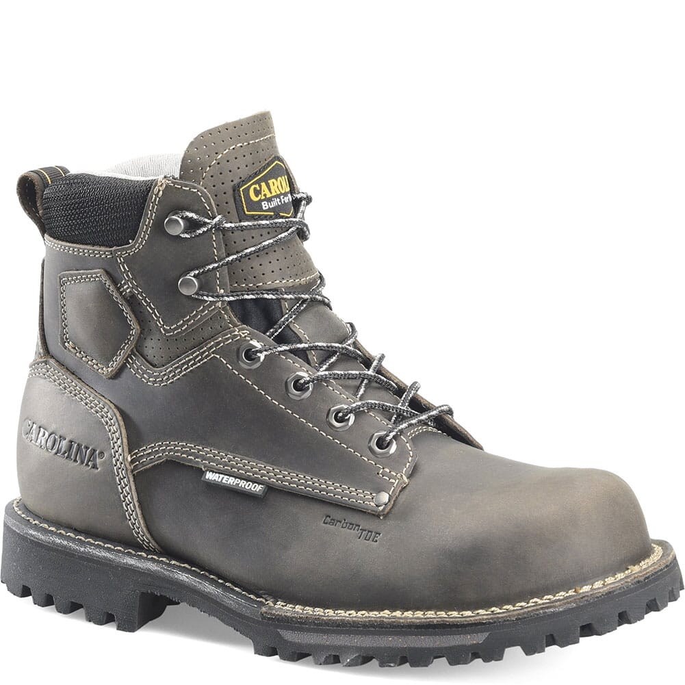 Image for Carolina Men's Waterproof EH Safety Boots - Grey Black from bootbay