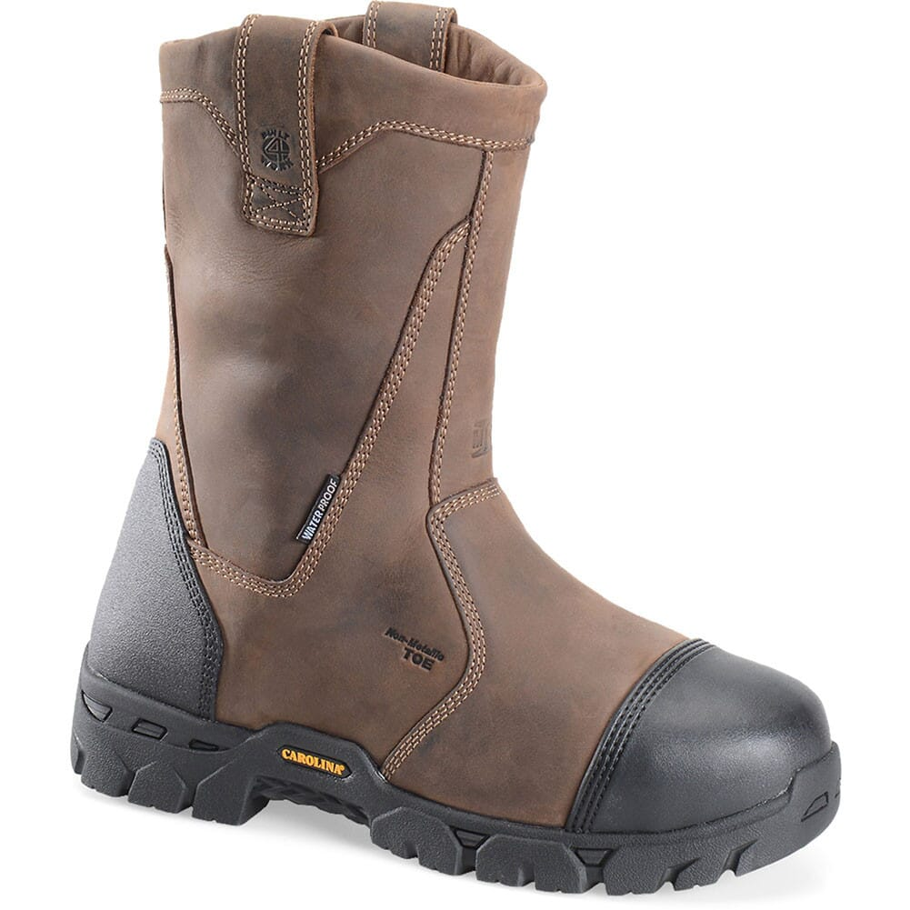 Image for Carolina Men's Internal Met WP Safety Boots - Tan from bootbay