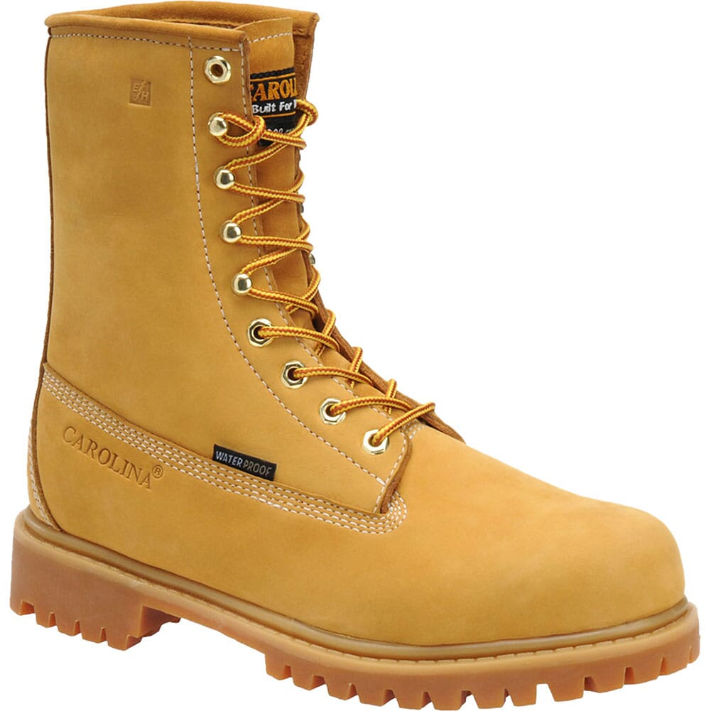 Image for Carolina Men's 8IN INS Safety Boots - Wheat from bootbay