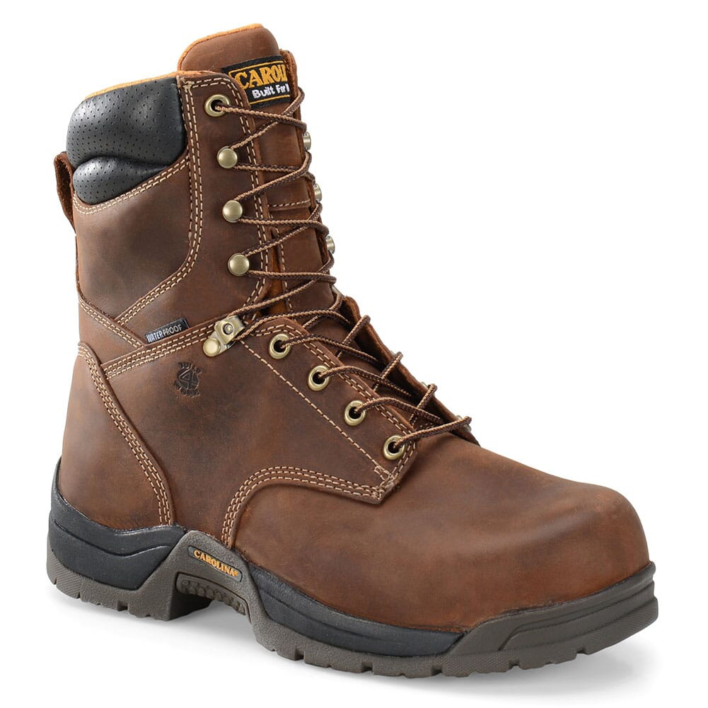 Image for Carolina Men's WP Broad Toe Work Boots - Copper from bootbay