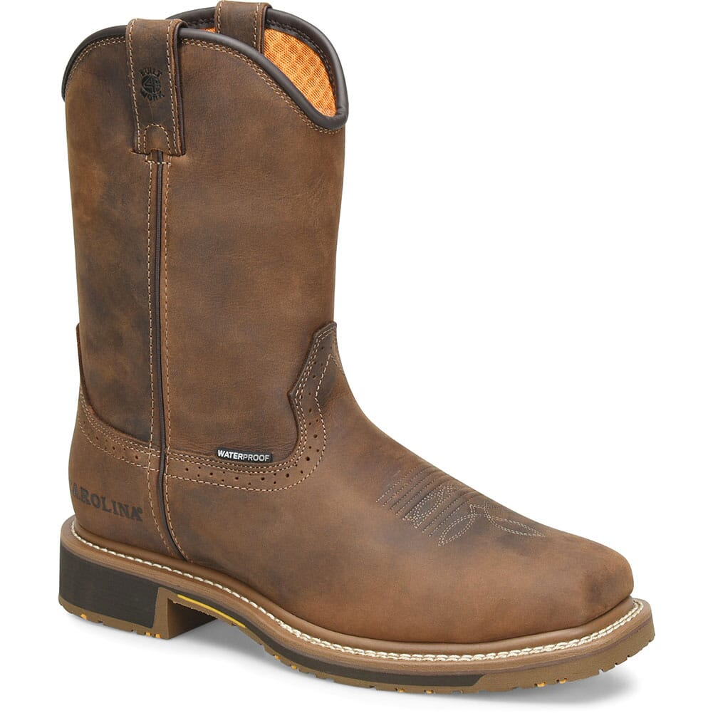 Image for Carolina Men's Anchor Work Ropers - Brown from bootbay