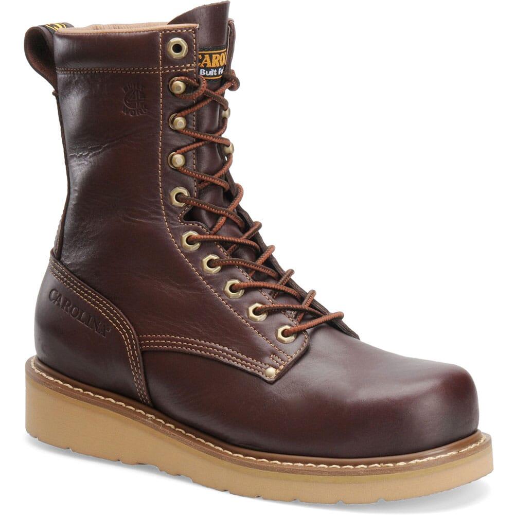 Image for Carolina Men's Goodyear Welt Work Boots - Dark Oak from bootbay