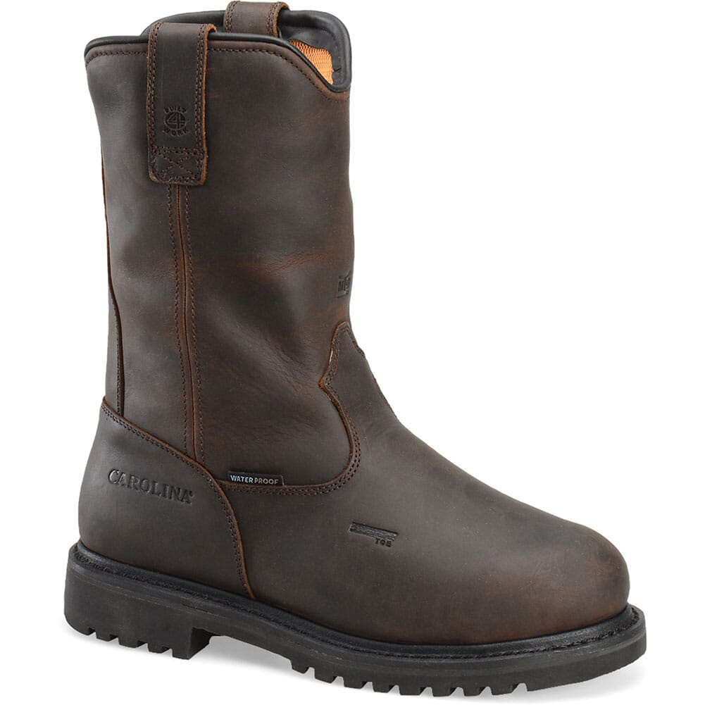 Image for Carolina Men's Waterproof Safety Boots - Dark Brown from bootbay