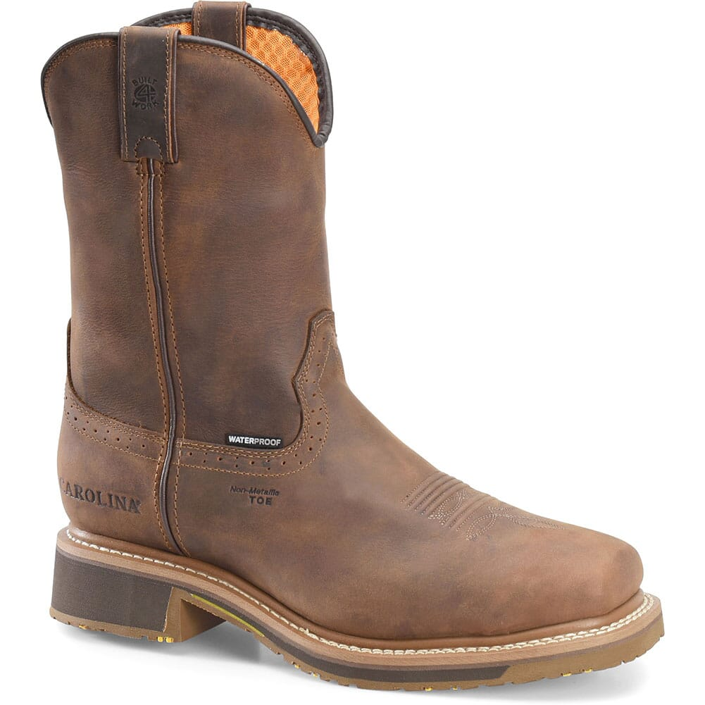 Image for Carolina Men's Anchor Safety Ropers - Brown from bootbay