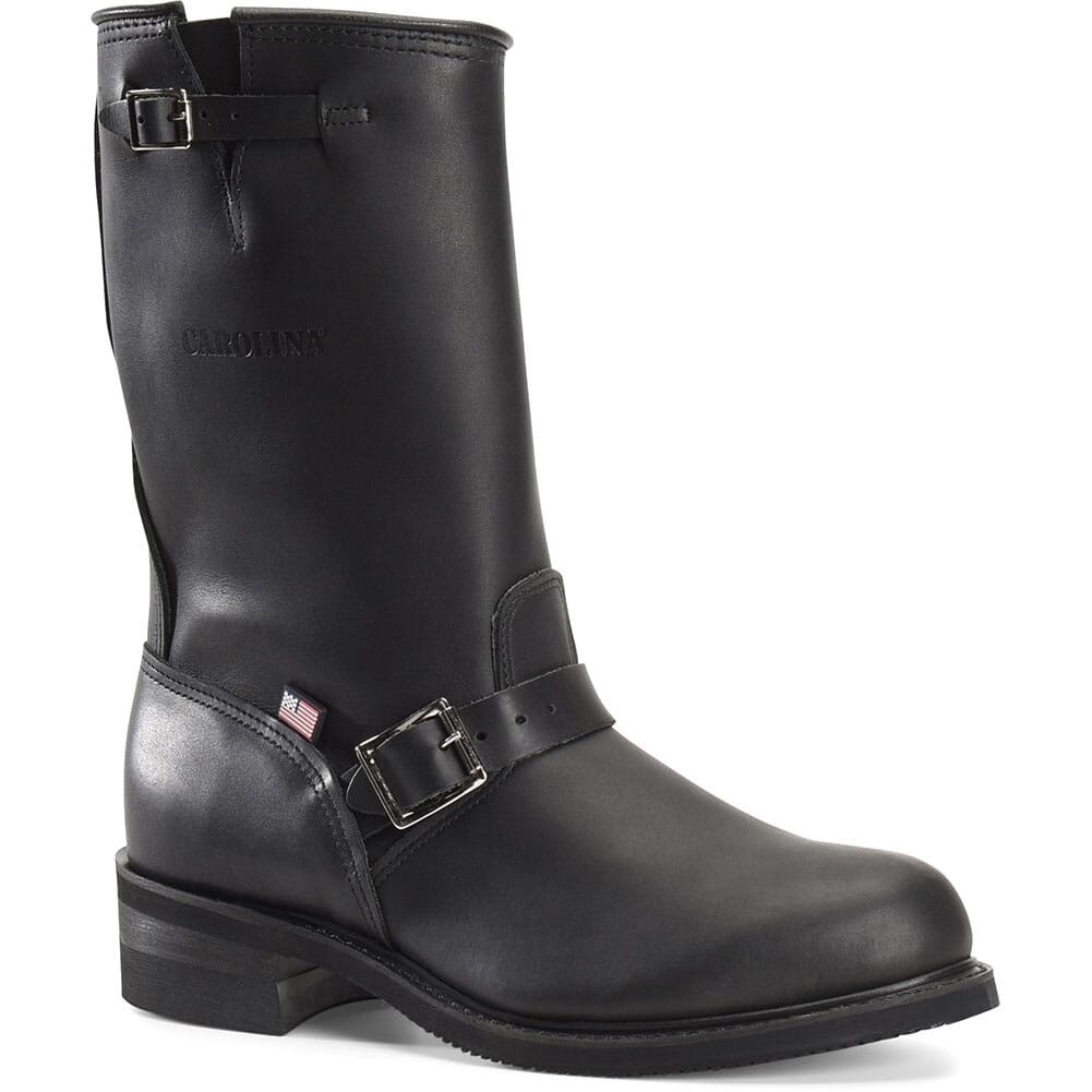Image for Carolina Men's Rebel Engineer Motorcycle Boots - Black from bootbay