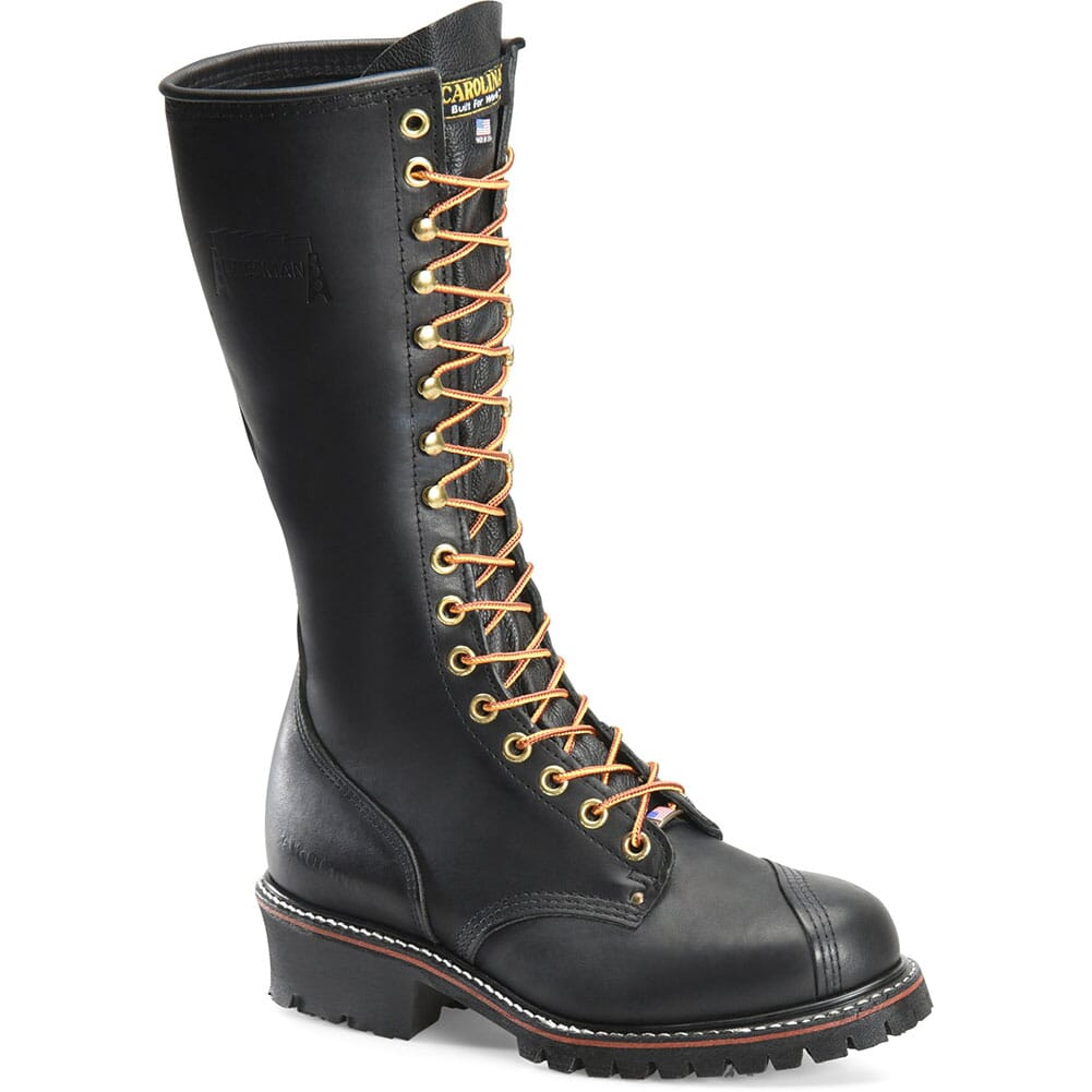 Image for Carolina Men's Linesman 16 Work Boots - Black from bootbay