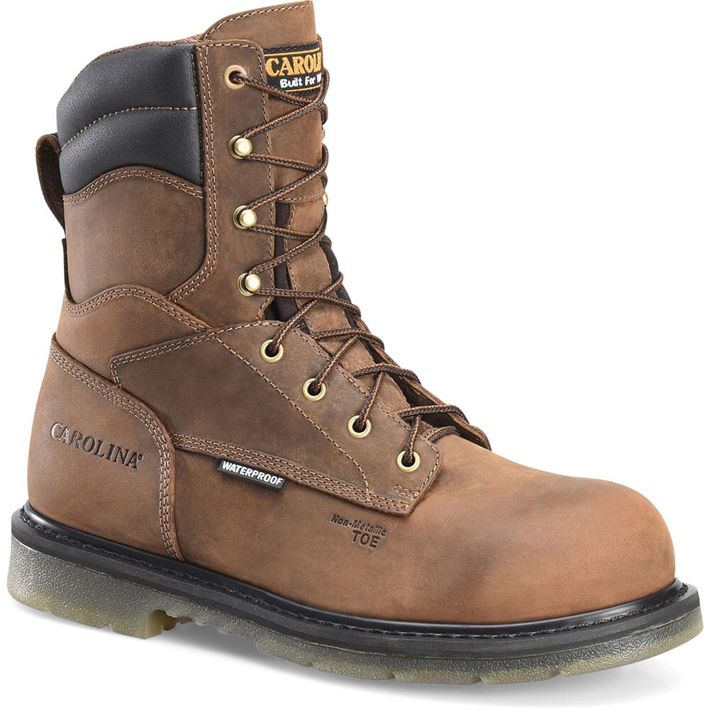 Image for Carolina Men's Supertrek Hi WP Safety Boots - Brown from bootbay