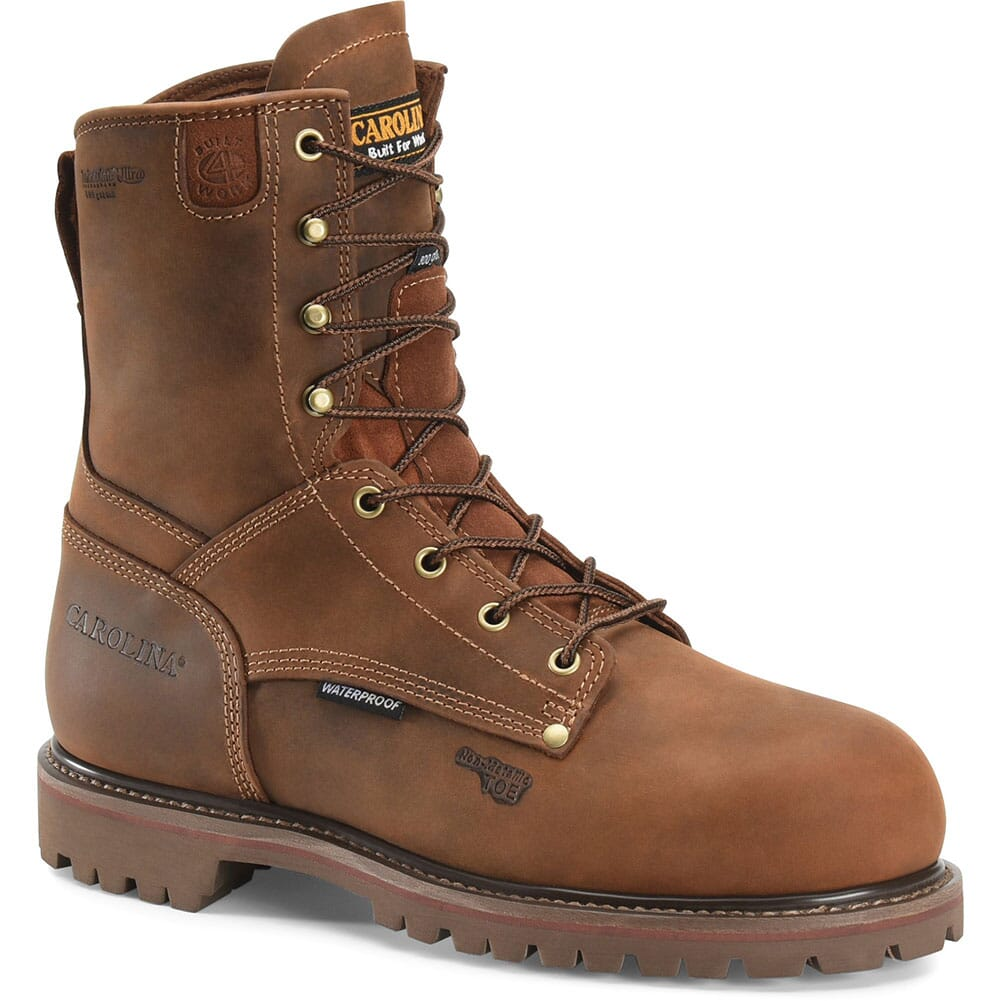Image for Carolina Men's Insulated WP Safety Boots - Cigar from bootbay