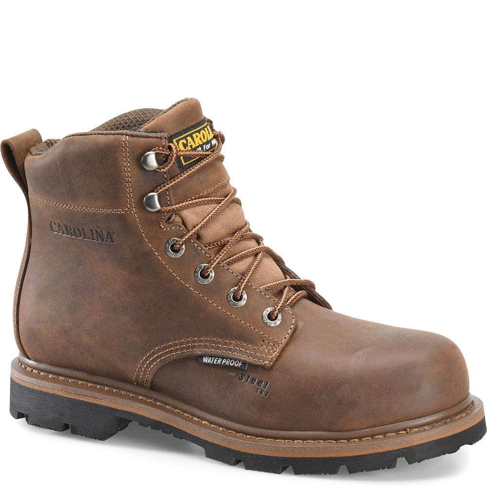 Image for Carolina Men's Dormer WP Safety Boots - Brown from bootbay