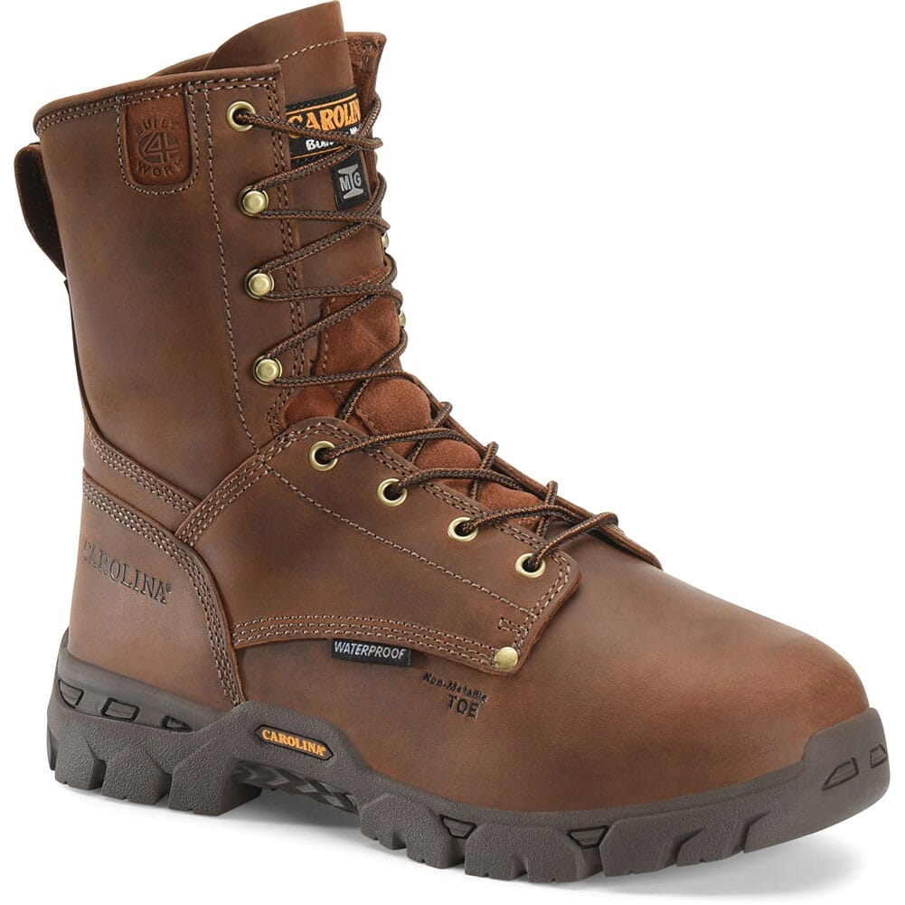 Image for Carolina Men's EH Internal Met Safety Boots - Brown from bootbay