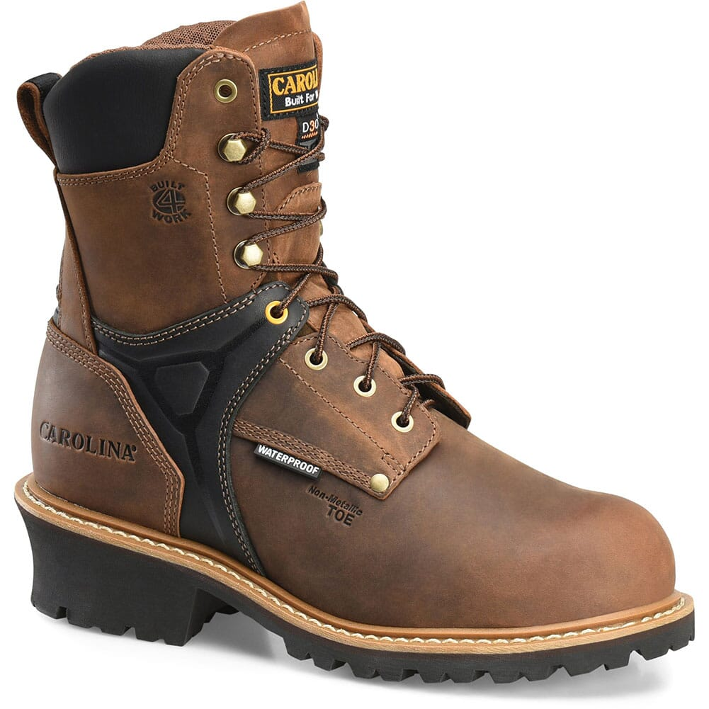Image for Carolina Men's Timber MetGuard Safety Boots - Brown from bootbay