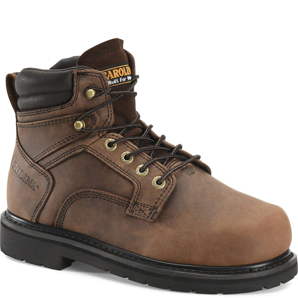 Image for Carolina Men's EH Vibram Safety Boots - Brown from bootbay