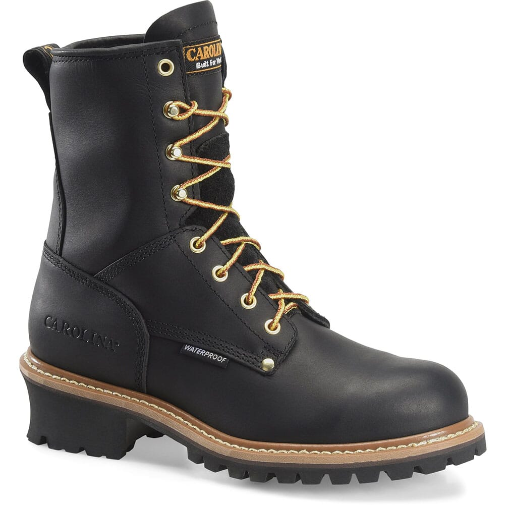 Image for Carolina Men's Waterproof Safety Loggers - Black from bootbay
