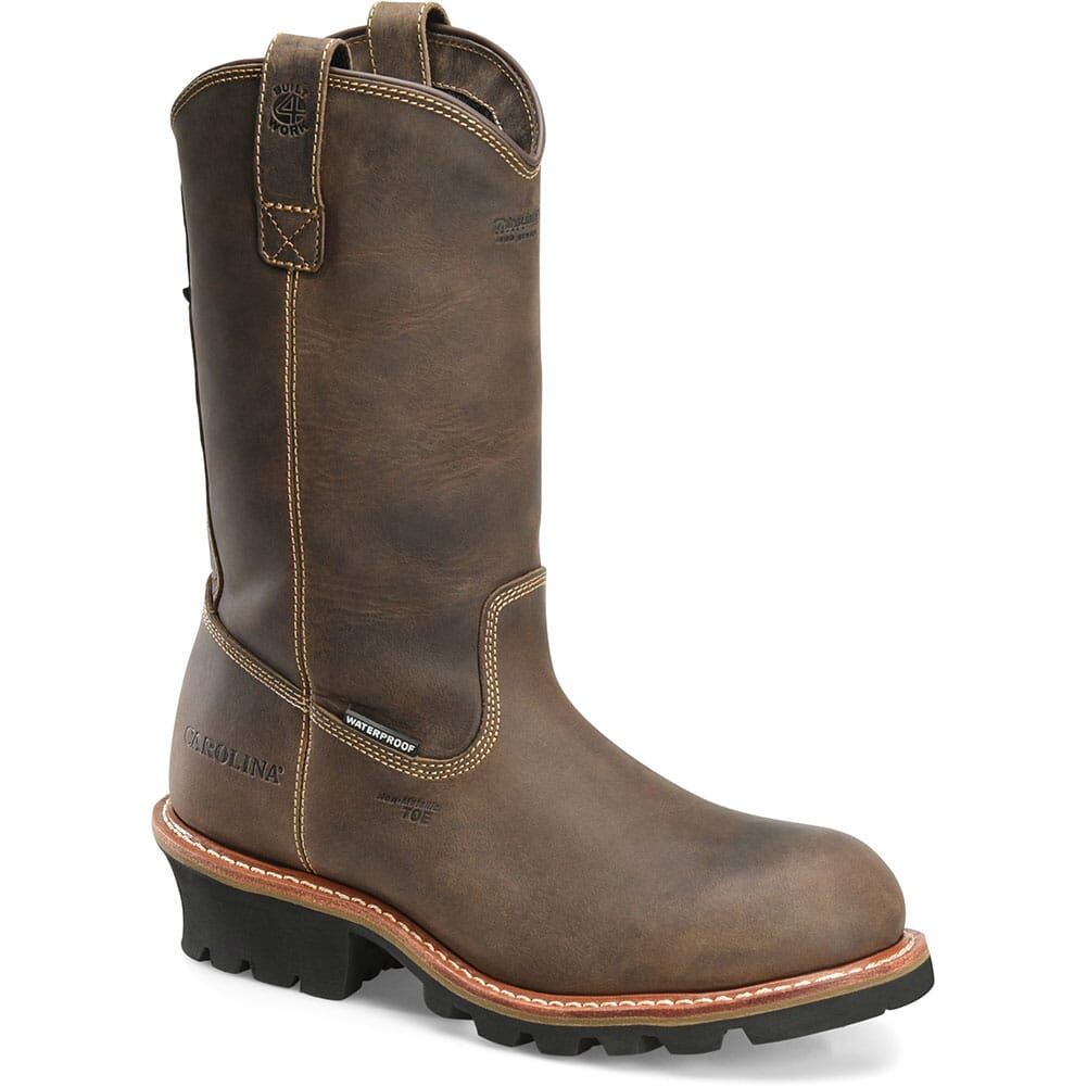 Image for Carolina Men's WELL X Insulated Safety Boots - Walnut from bootbay