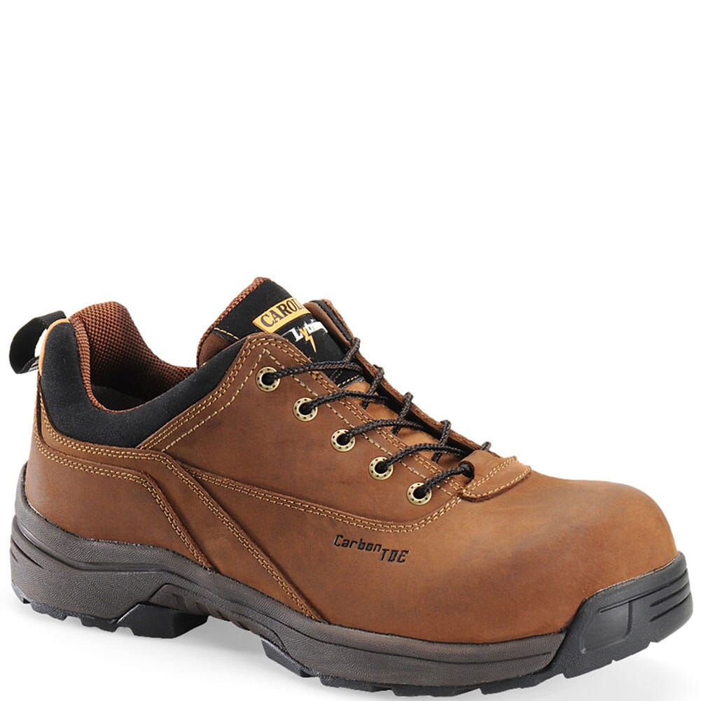 Image for Carolina Men's EVA Footbed ESD Safety Shoes - Brown from bootbay