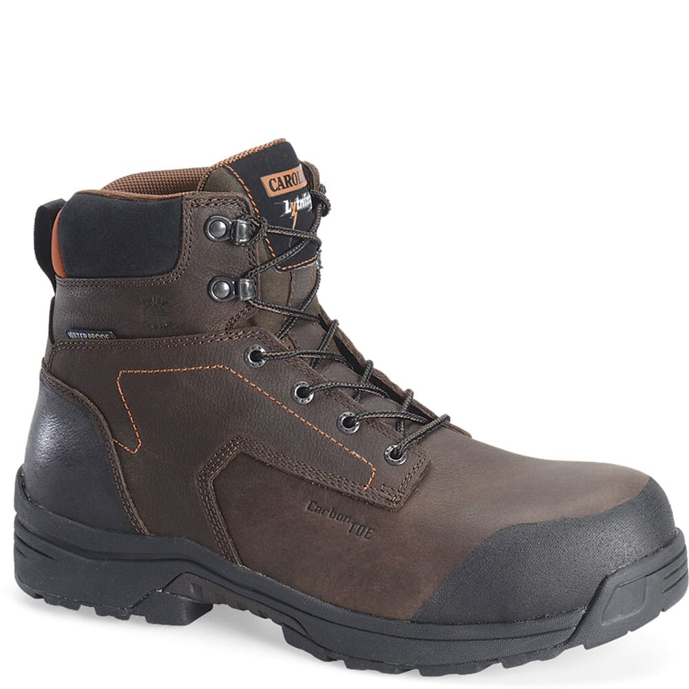 Image for Carolina Men's Lytning WP Safety Boots - Brown from bootbay