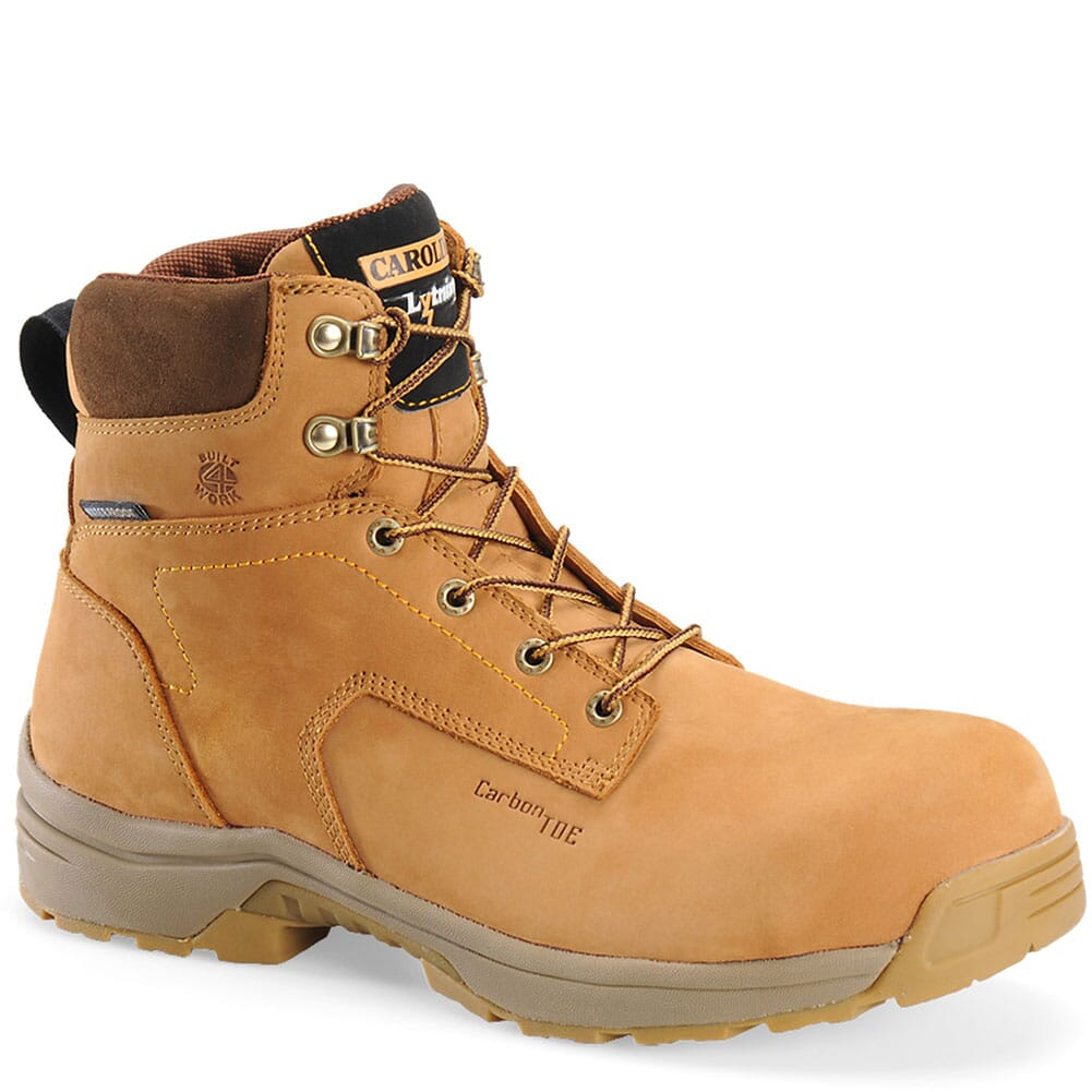 Image for Carolina Men's WP Safety Boots - Wheat from bootbay
