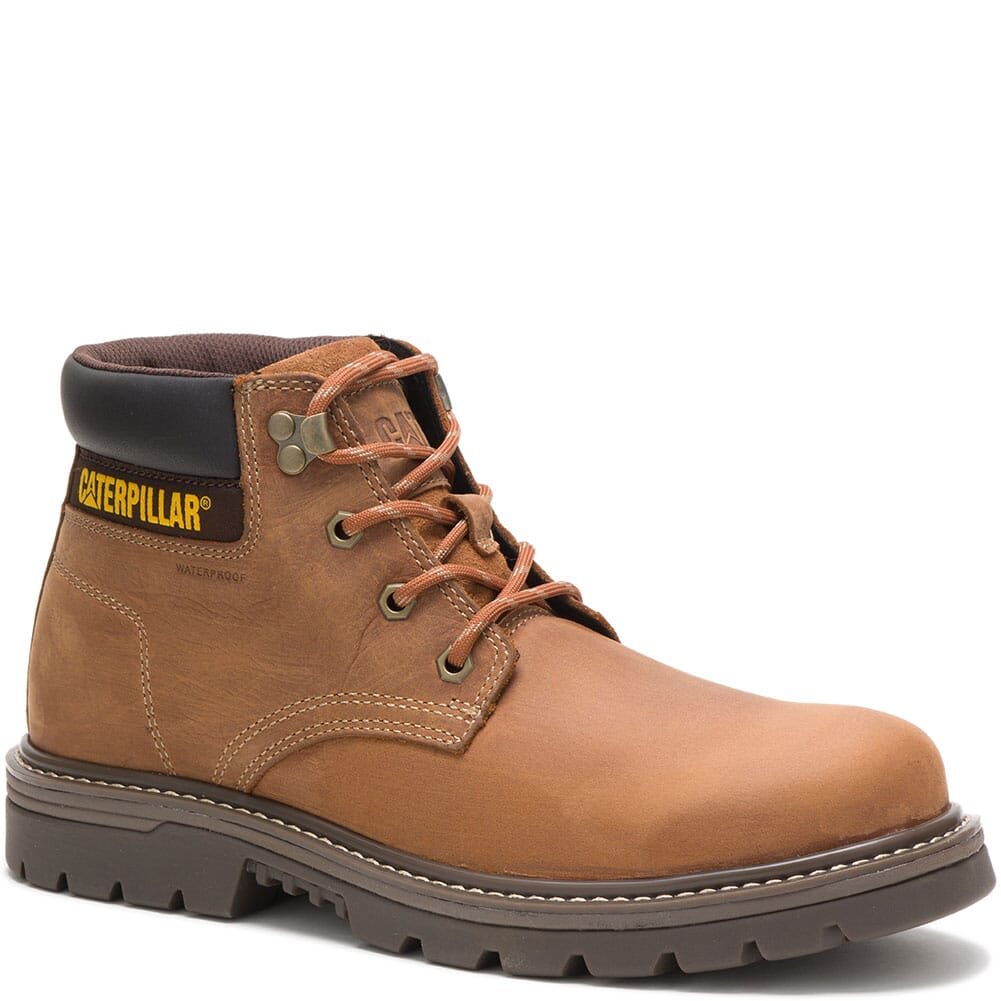 Image for Caterpillar Men's Outbase WP Work Boots - Brown from bootbay