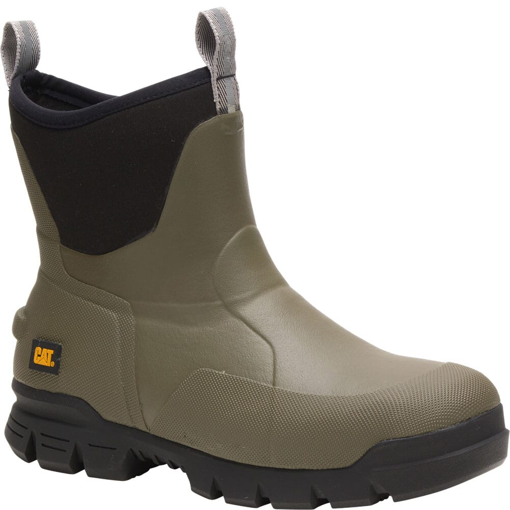 Image for Caterpillar Unisex Stormers Work Boots - Olive Night from bootbay