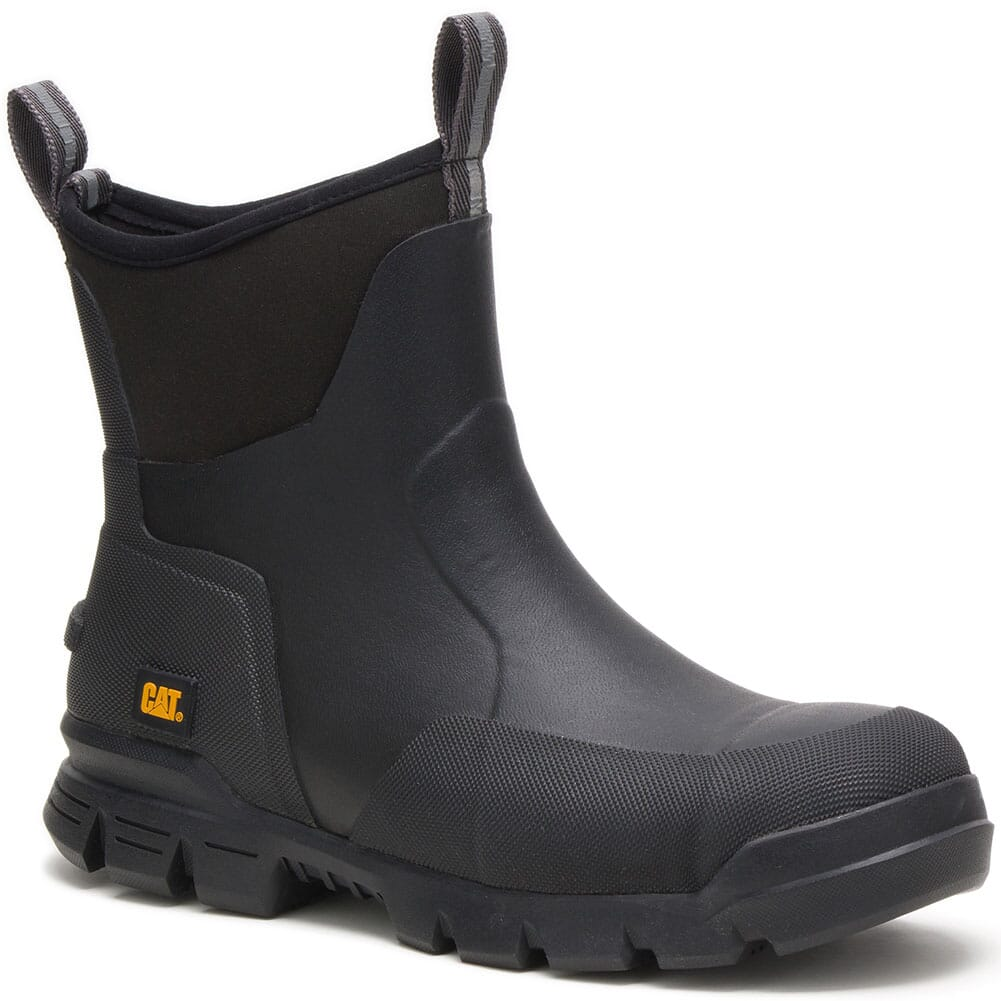 Image for Caterpillar Unisex Stormers Work Boots - Black from bootbay