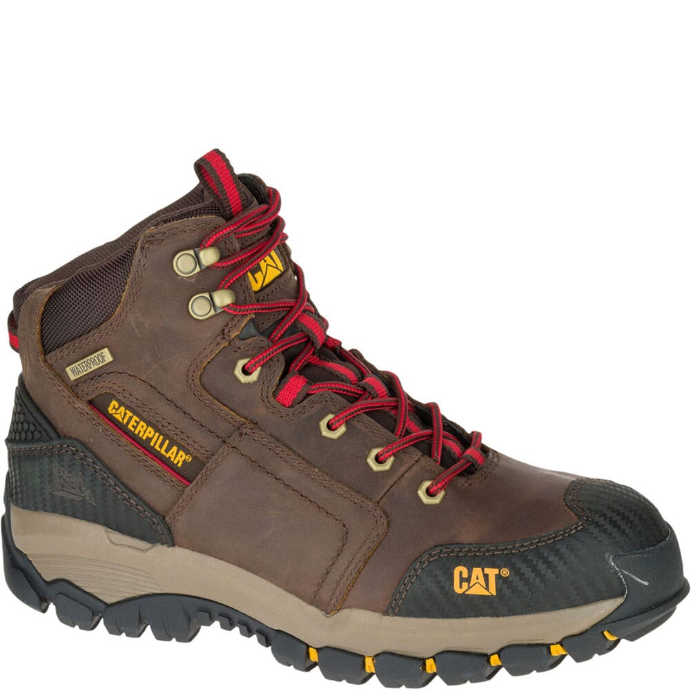 Image for Caterpillar Men's Navigator Mid WP Safety Boots - Clay from bootbay