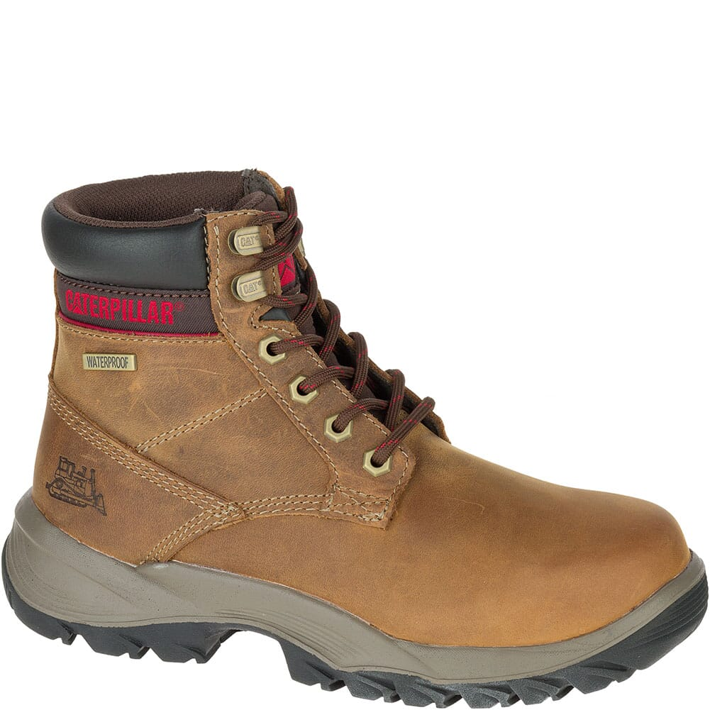 Image for Caterpillar Women's Dryverse Work Boots - Beige from elliottsboots