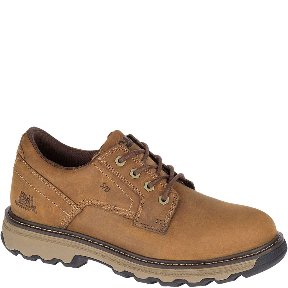 Image for Caterpillar Men's Tyndall ESD Work Shoes - Dark Beige from bootbay