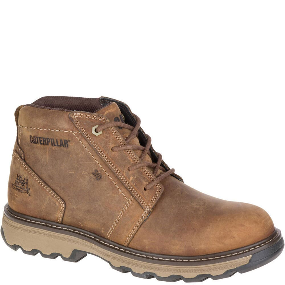 Image for Caterpillar Men's Parker ESD Work Boots - Dark Beige from bootbay