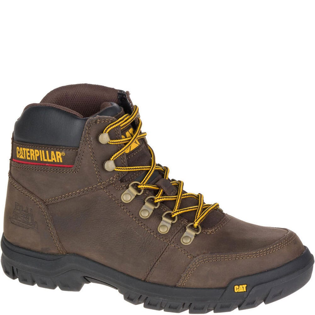 Image for Caterpillar Men's Outline Work Boots - Seal Brown from bootbay