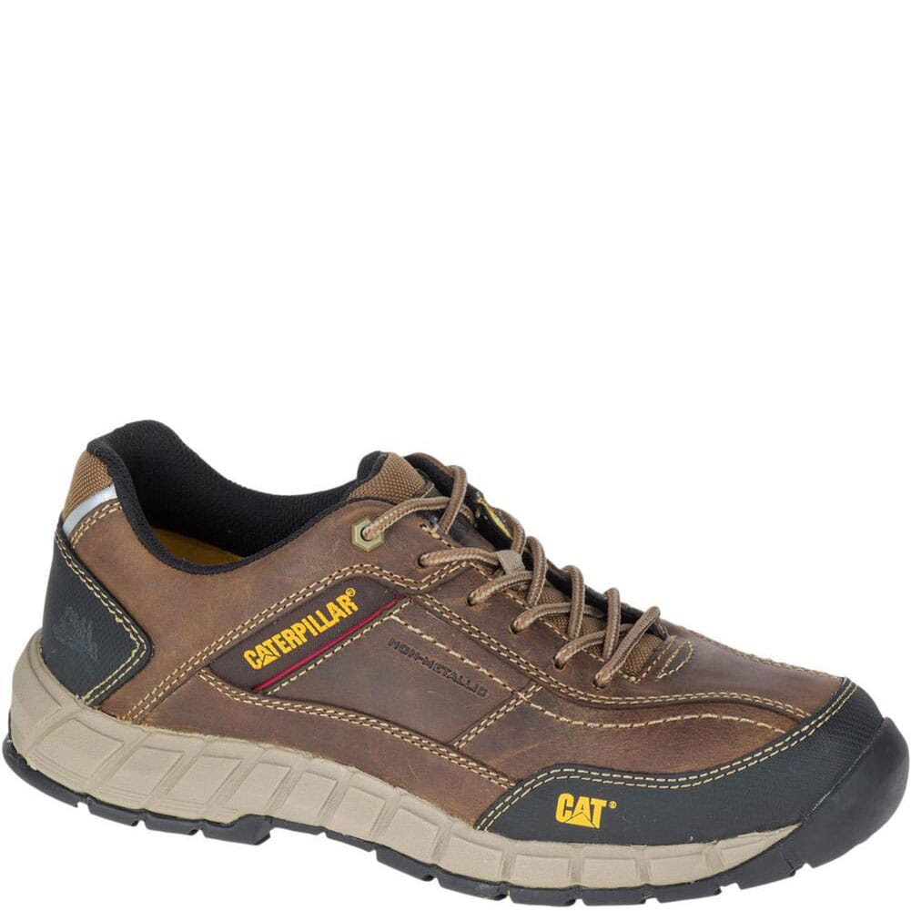 Image for Caterpillar Men's Streamline Leather Work Shoes - Brown from bootbay