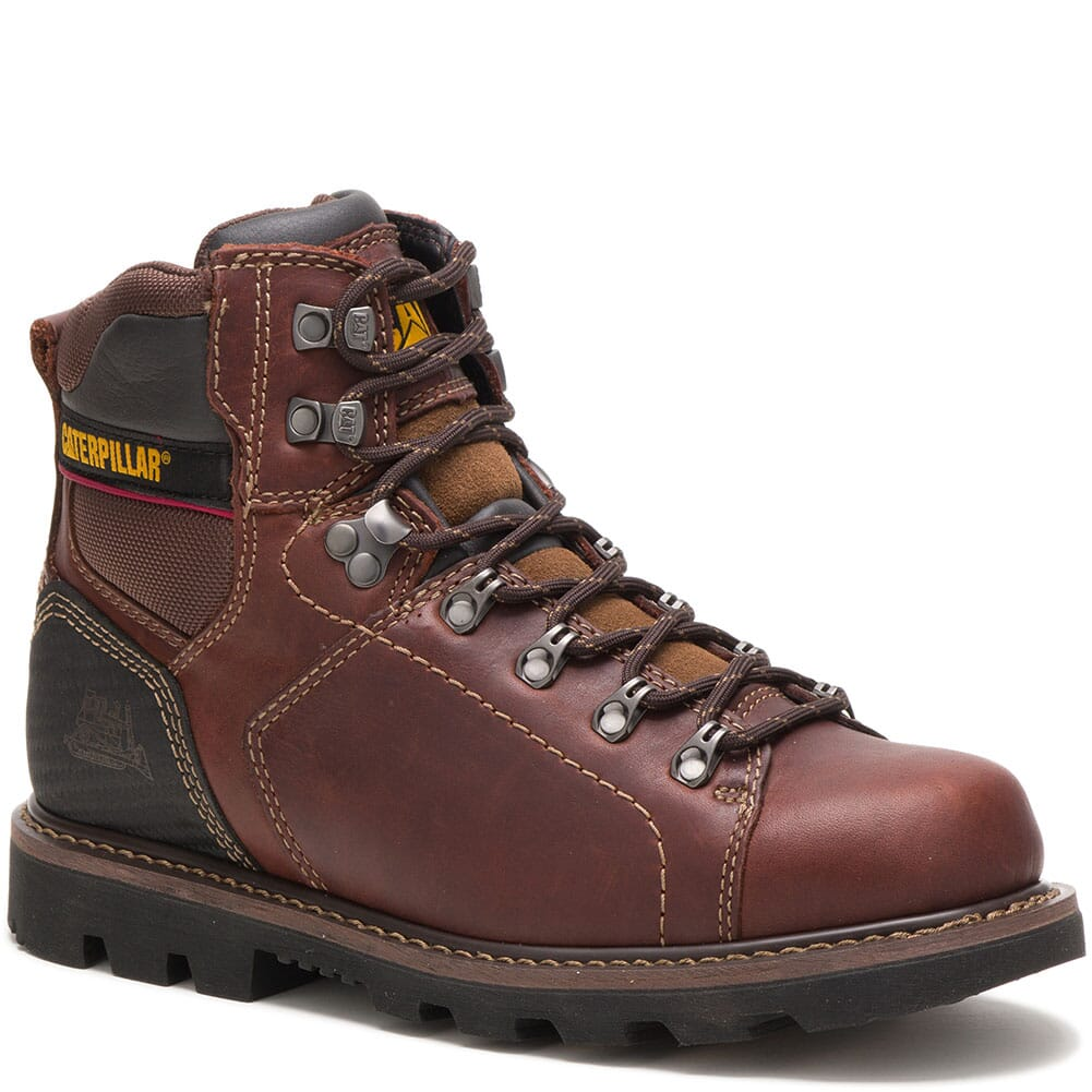 Image for Caterpillar Men's Alaska 2.0 Work Boots - Brown from bootbay