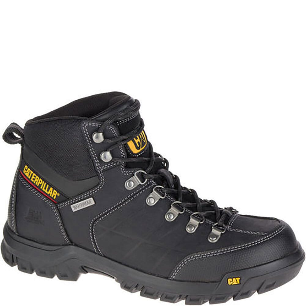 Image for Caterpillar Men's Threshold WP Work Boots - Black from bootbay