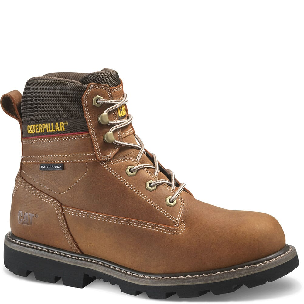 Image for Caterpillar Men's Idaho WP Work Boots - Walnut from bootbay