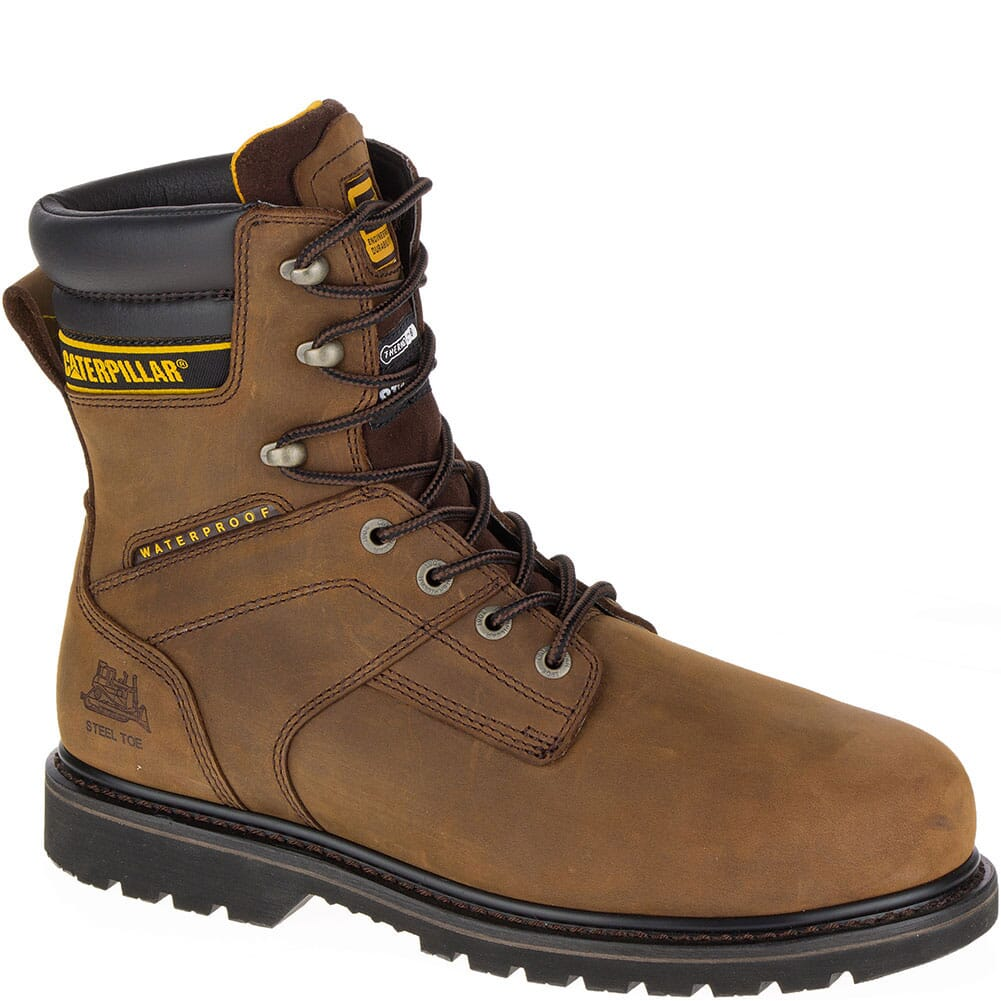 Image for Caterpillar Men's Salvo Safety Boots - Brown from bootbay
