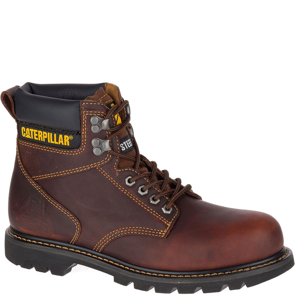 Image for Caterpillar Men's Second Shift Safety Boots - Dark Brown from bootbay