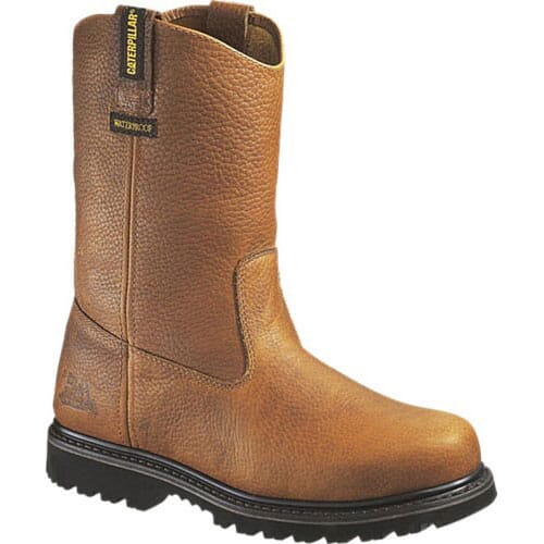 Image for Caterpillar Mens Edgework Safety Boots - Brown from bootbay