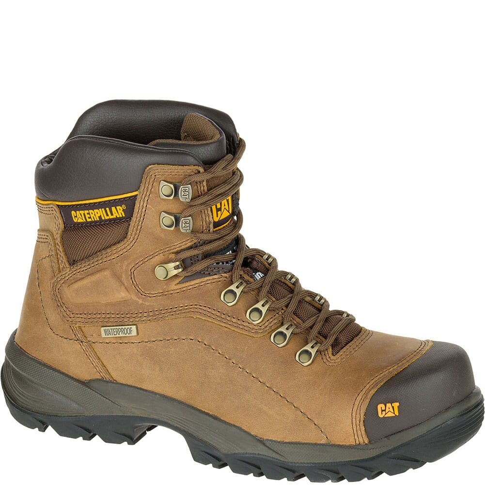Image for Caterpillar Men's Diagnostic Safety Boots - Dark Beige from bootbay